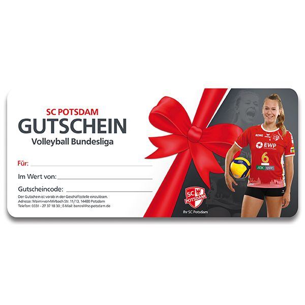 50 € Fanshop Gutschein